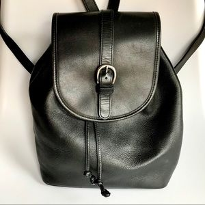 Cole Haan Classic Leather Backpack 👍 Black